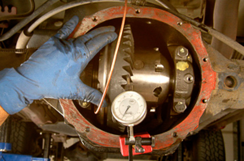 Setting up an ARB Air Locking differential in the popular 8.25