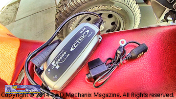 CTEK powersports battery charger
