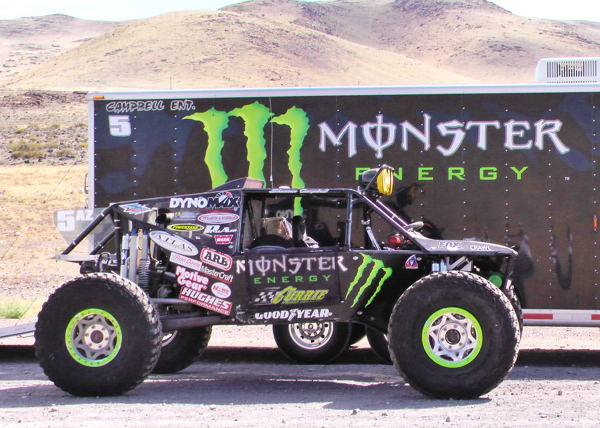 Shannon Campbell's Ultra4 Race car at the 2011 Stampede Race!