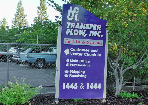 Transfer Flow, Inc., at Chico, California, manufactures 50-State legal fuel tanks.
